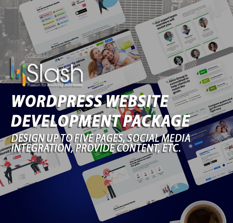 WordPress Website Development Package