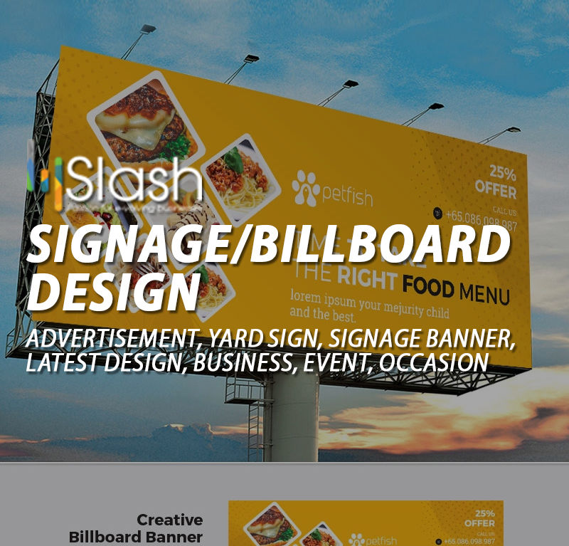 Signage/Billboard Design