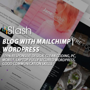 blog with mailchimp