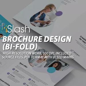 Brochure bi-fold