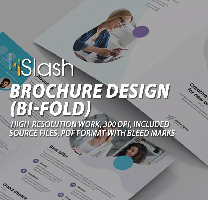 Brochure Design (Bi-Fold) 4 page