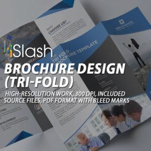 brochure tri-fold