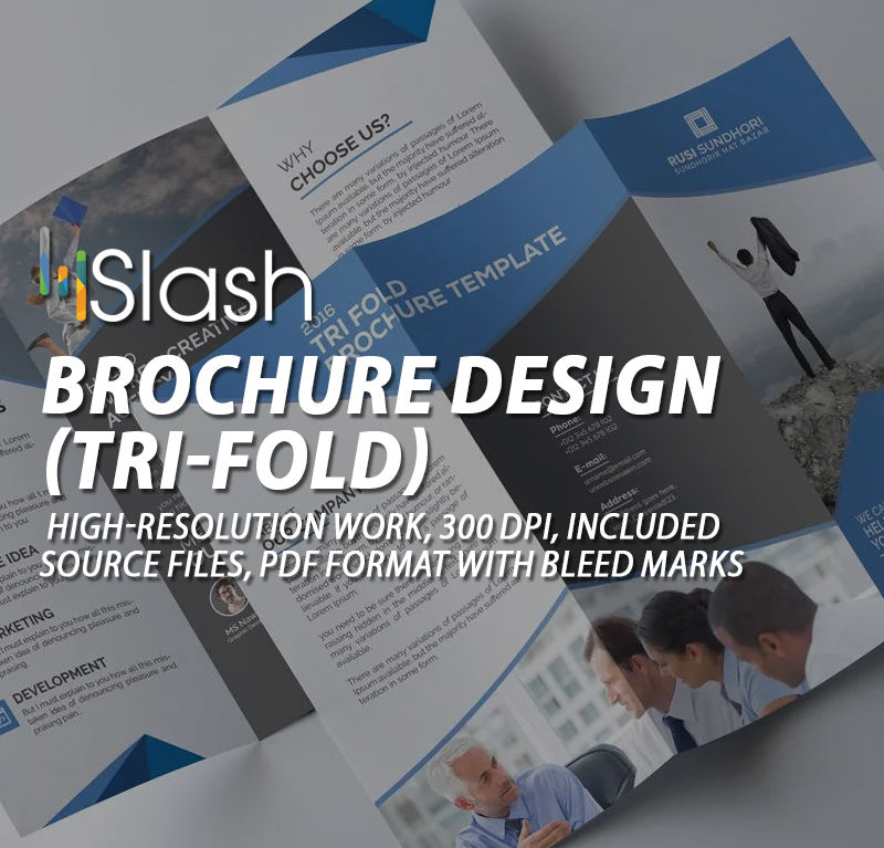 Brochure Design (tri-Fold)