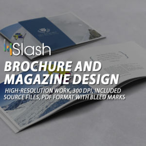 Brochure and megazine