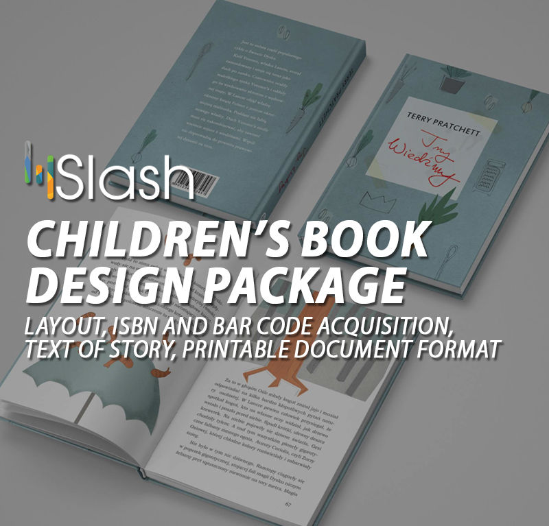 Children's Book design package