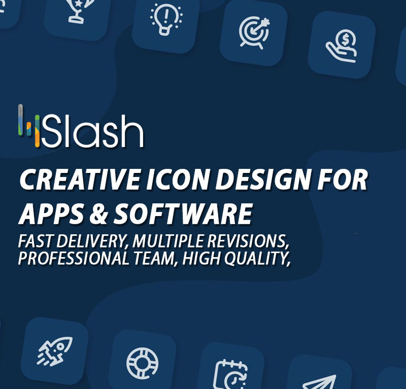 Creative Icon Design for Apps & Software