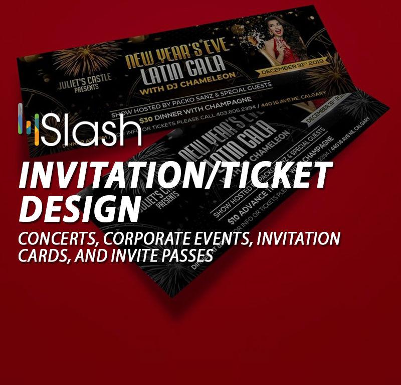 Invitation/Ticket Design