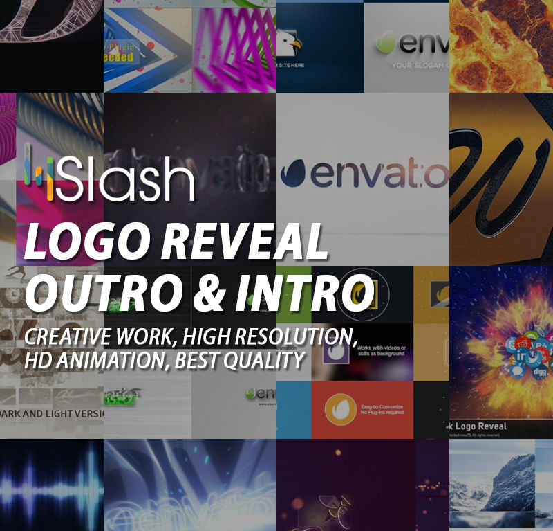 Logo Reveal – Outro & Intro
