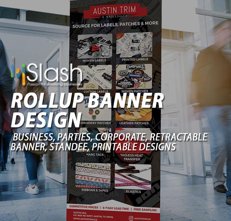 Rollup banner design