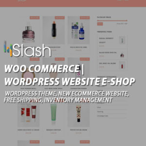 woocommerce wordpress website e-shop