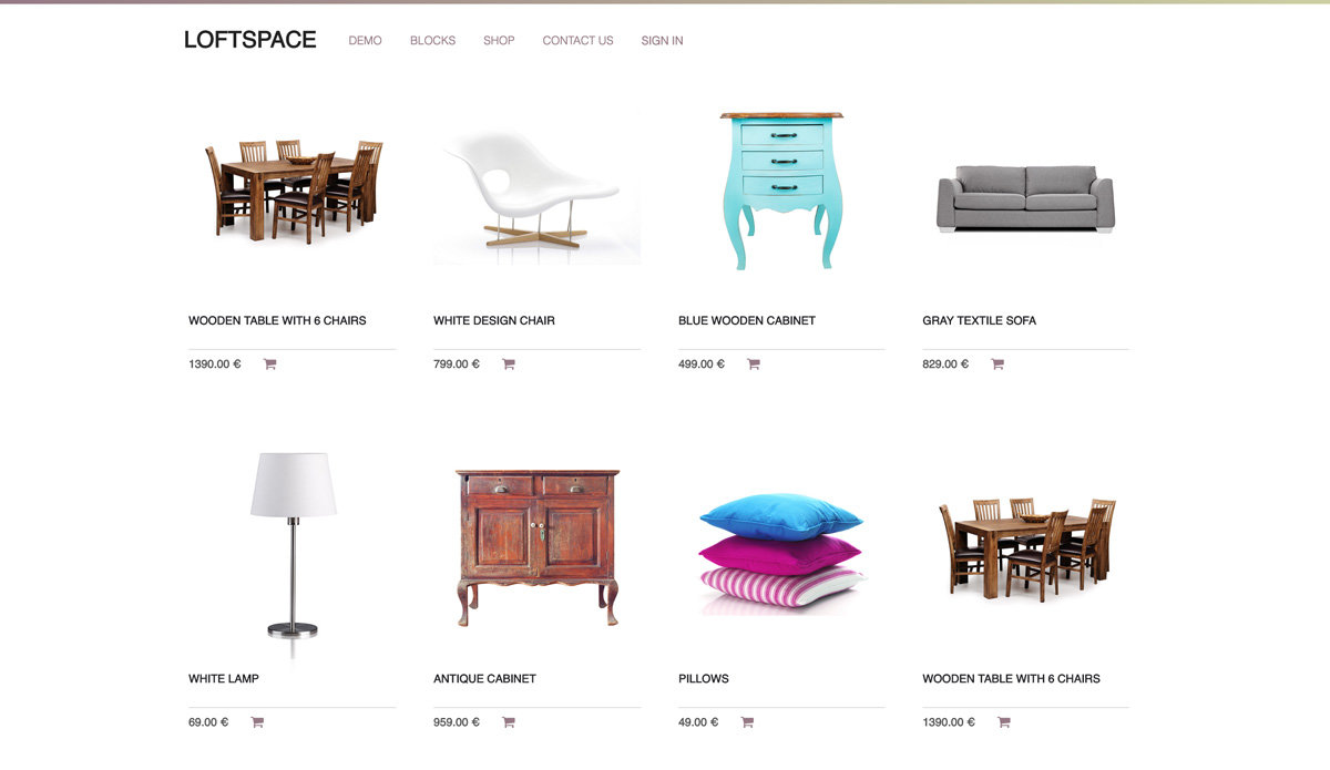 e-commerce_loftspace